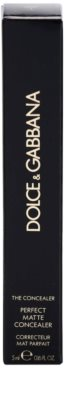 Dolce & Gabbana The Concealer corretor matificante 3