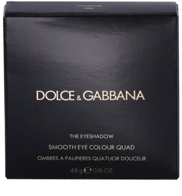 Dolce & Gabbana The Eyeshadow Eye Shadow Palette 4