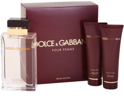 Dolce & Gabbana Pour Femme Travel Edition dárkové sady