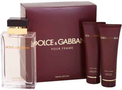 Dolce & Gabbana Pour Femme Travel Edition lotes de regalo