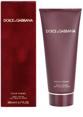 Dolce & Gabbana Pour Femme (2012) leche corporal para mujer