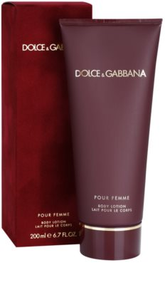 Dolce & Gabbana Pour Femme (2012) leche corporal para mujer 1