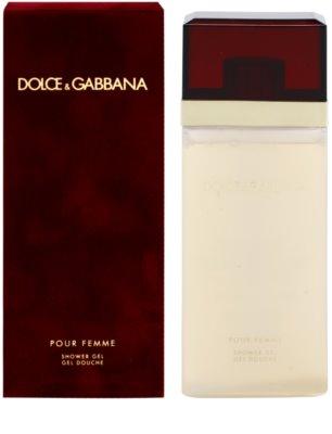 Dolce & Gabbana Pour Femme (2012) gel de dus pentru femei