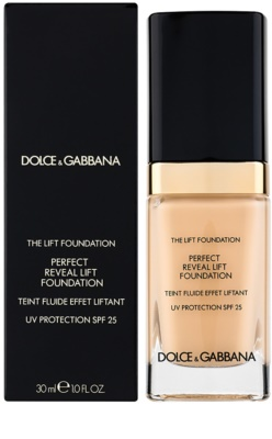 Dolce & Gabbana The Foundation The Lift Foundation Fond de ten cu efect de lifting SPF 25 2