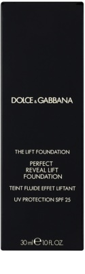 Dolce & Gabbana The Foundation The Lift Foundation Fond de ten cu efect de lifting SPF 25 3