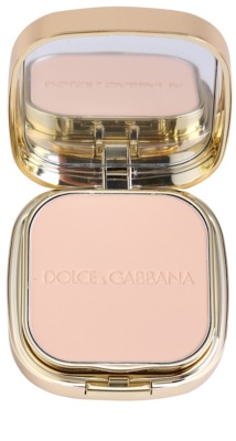 Dolce & Gabbana The Foundation Perfect Matte Powder Foundation matujący, pudrowy podkład z lusterkiem i aplikatorem