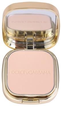 Dolce & Gabbana The Foundation Perfect Matte Powder Foundation матуюча компактна пудра з дзеркальцем та аплікатором