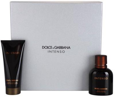 Dolce & Gabbana Pour Homme Intenso coffret presente