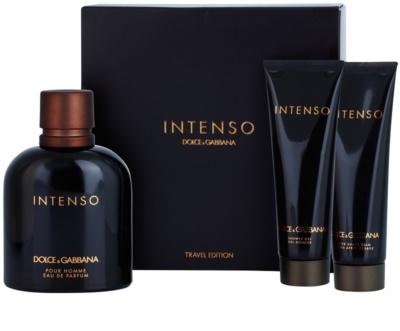 Dolce & Gabbana Pour Homme Intenso darčekové sady