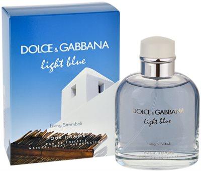 Dolce & Gabbana Light Blue Pour Homme Living Stromboli eau de toilette férfiaknak