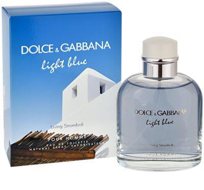 Dolce & Gabbana Light Blue Pour Homme Living Stromboli toaletní voda pro muže