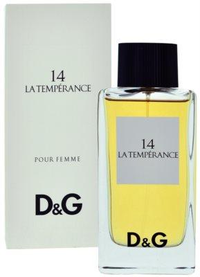 Dolce & Gabbana D&G Anthology La Temperance 14 Eau de Toilette für Damen