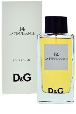 Dolce & Gabbana D&G Anthology La Temperance 14 toaletna voda za ženske