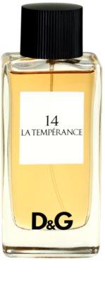 Dolce & Gabbana D&G Anthology La Temperance 14 toaletní voda tester pro ženy