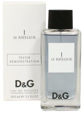 Dolce & Gabbana D&G Le Bateleur 1 eau de toilette teszter férfiaknak