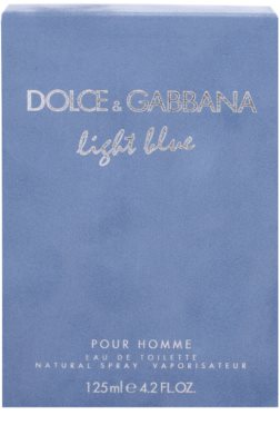 Dolce & Gabbana Light Blue Pour Homme тоалетна вода за мъже 4
