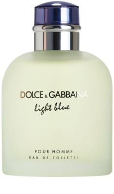 Dolce & Gabbana Light Blue Pour Homme toaletní voda tester pro muže