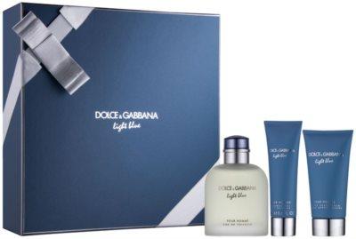 Dolce & Gabbana Light Blue Pour Homme coffret presente