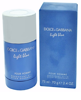Dolce & Gabbana Light Blue Pour Homme desodorizante em stick para homens