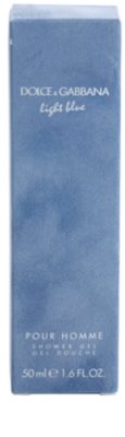 Dolce & Gabbana Light Blue Pour Homme żel pod prysznic dla mężczyzn 2