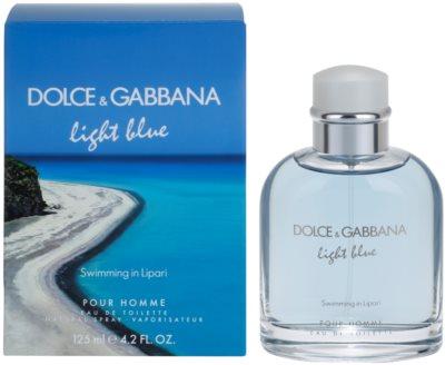 Dolce & Gabbana Light Blue Swimming in Lipari woda toaletowa dla mężczyzn