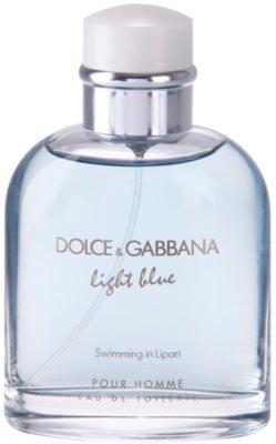 Dolce & Gabbana Light Blue Swimming in Lipari eau de toilette teszter férfiaknak