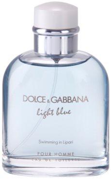 Dolce & Gabbana Light Blue Swimming in Lipari toaletní voda tester pro muže