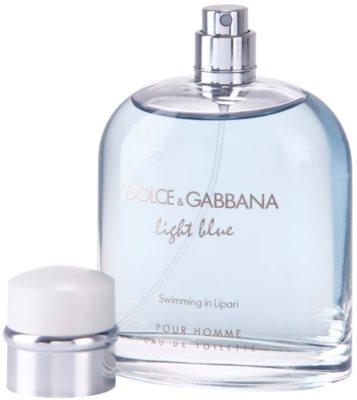 Dolce & Gabbana Light Blue Swimming in Lipari toaletní voda tester pro muže 1