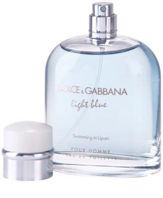 Dolce & Gabbana Light Blue Swimming in Lipari eau de toilette teszter férfiaknak 1