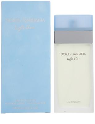 Dolce & Gabbana Light Blue туалетна вода для жінок