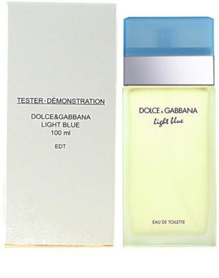 Dolce & Gabbana Light Blue тоалетна вода тестер за жени 2
