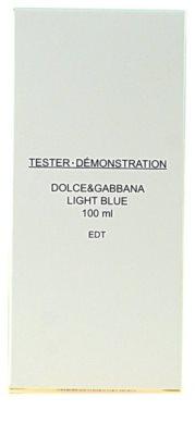 Dolce & Gabbana Light Blue toaletná voda tester pre ženy 3