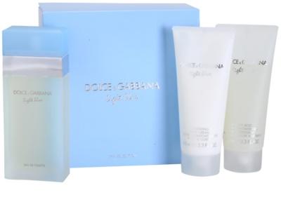 Dolce & Gabbana Light Blue coffrets presente