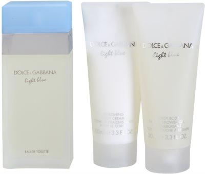 Dolce & Gabbana Light Blue seturi cadou 1