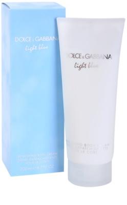 Dolce & Gabbana Light Blue Körpercreme für Damen 1