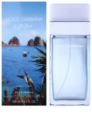 Dolce & Gabbana Light Blue Love in Capri Eau de Toilette pentru femei