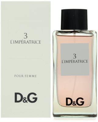 Dolce & Gabbana D&G Anthology L´Imperatrice 3 toaletna voda za ženske