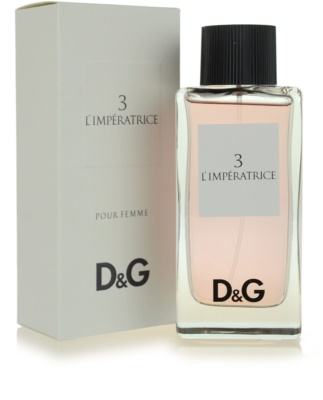 Dolce & Gabbana D&G Anthology L´Imperatrice 3 eau de toilette para mujer 1