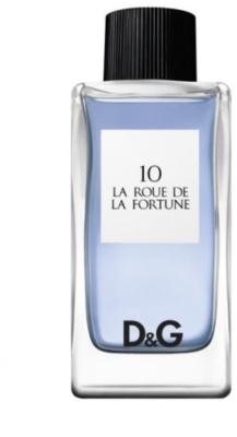 Dolce & Gabbana D&G La Roue de la Fortune 10 Eau de Toilette para mulheres