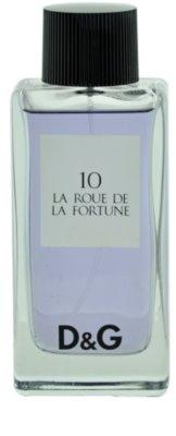Dolce & Gabbana D&G La Roue de la Fortune 10 тоалетна вода тестер за жени