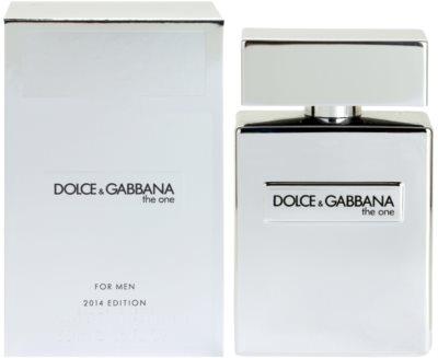 Dolce & Gabbana The One 2014 туалетна вода для чоловіків