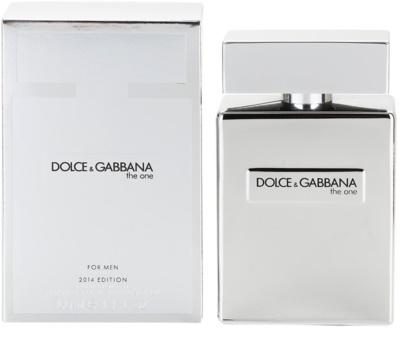 Dolce & Gabbana The One for Men Platinum Limited Edition 2014 eau de toilette férfiaknak