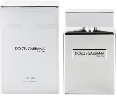 Dolce & Gabbana The One for Men Platinum Limited Edition 2014 toaletna voda za moške
