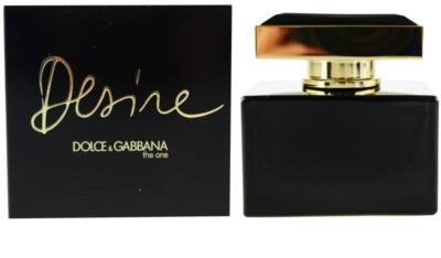 Dolce & Gabbana The One Desire eau de parfum nőknek