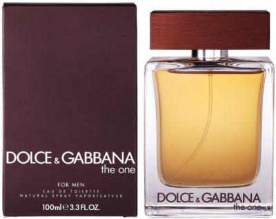 Dolce & Gabbana The One for Men eau de toilette férfiaknak