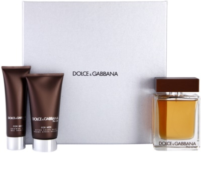 Dolce & Gabbana The One for Men lotes de regalo