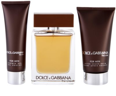 Dolce & Gabbana The One for Men lotes de regalo 1