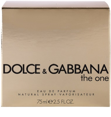 Dolce & Gabbana The One eau de parfum nőknek 3
