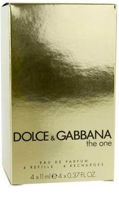 Dolce & Gabbana The One парфумована вода для жінок  флакон наповнення з пульверизатором 3