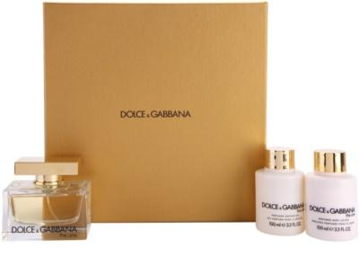 Dolce & Gabbana The One coffrets presente